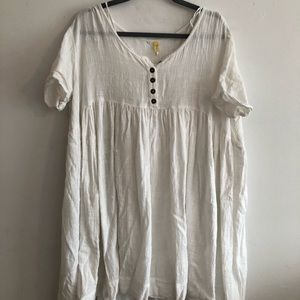 Free People Dresses - Free people linen dress with slip